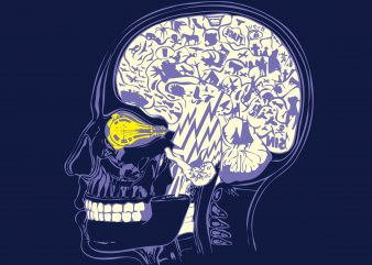 Funny Human Brain buy t shirt design