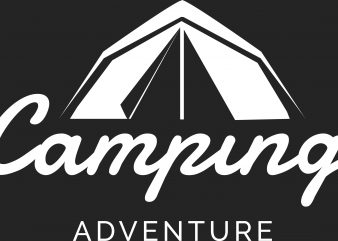 Camping Adventure buy t shirt design