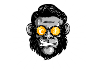 crazy monkey t shirt vector file