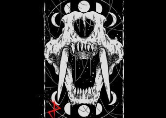 death fang tshirt design buy t shirt design