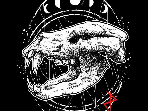 dog skull tshirt design buy t shirt design
