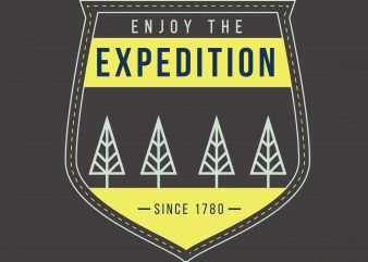 Enjoy The Expedition buy t shirt design