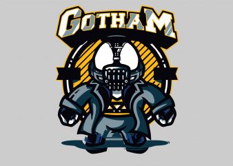 Gotham buy t shirt design