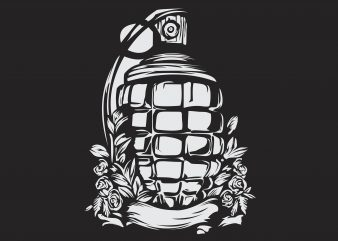 Grenade Vector buy t shirt design