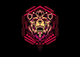 lion head sacred geometry buy t shirt design
