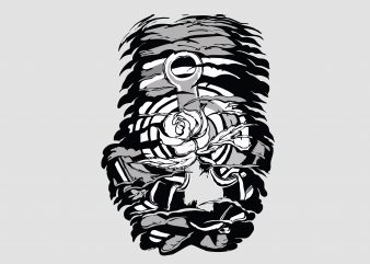Dead Flower buy t shirt design