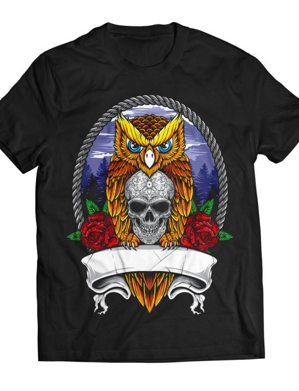 Nocturnal buy t shirt design