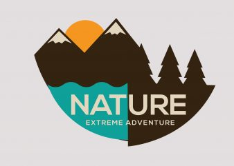 Nature Extreme Adventure buy t shirt design