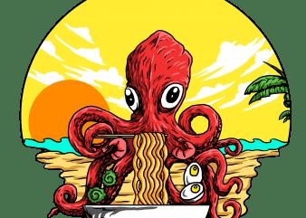 octopus buy t shirt design