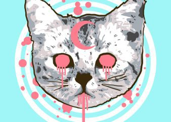 pop cat tshirt design buy t shirt design