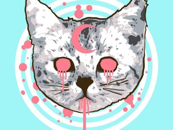 pop cat tshirt design
