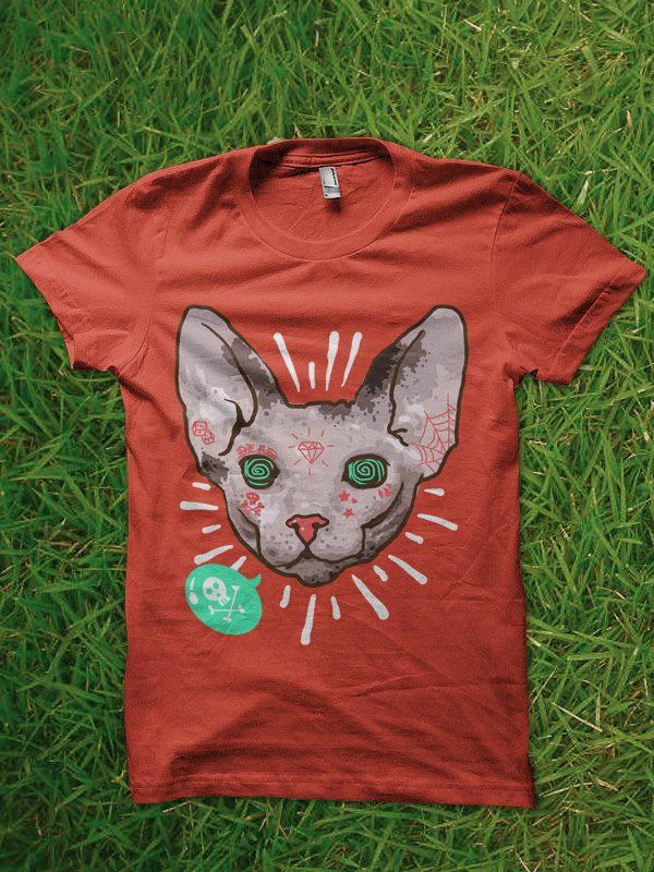 pop sphynx buy t shirt design