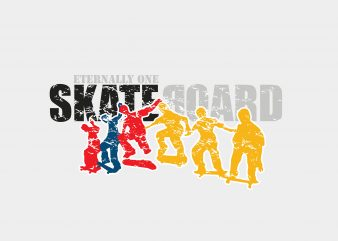 Skateboard buy t shirt design