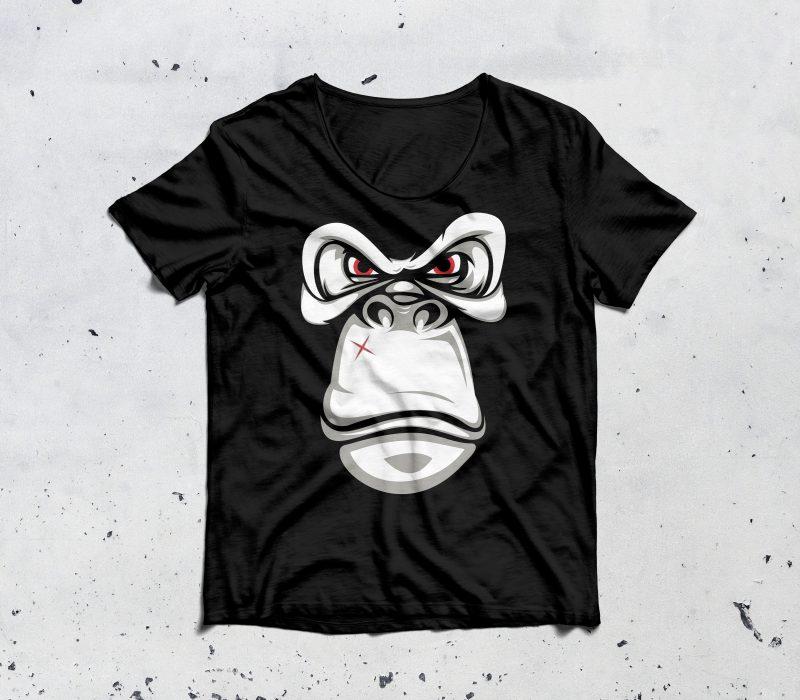 bad gorilla buy t shirt design