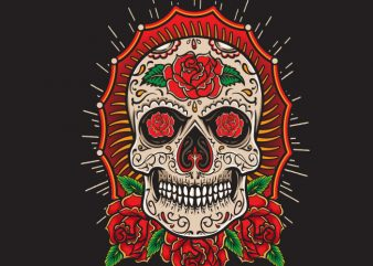 Sugarskull buy t shirt design