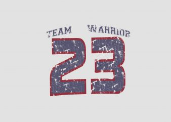 Team Warrior buy t shirt design