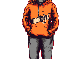 monkey hoodie buy t shirt design