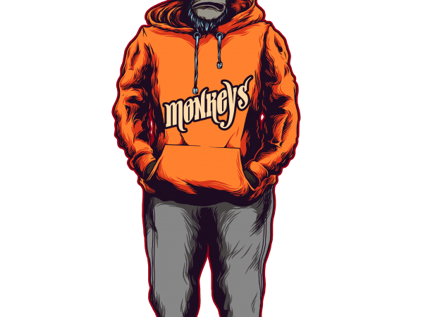 monkey hoodie buy t shirt design