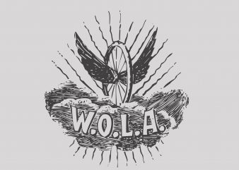 Wola buy t shirt design