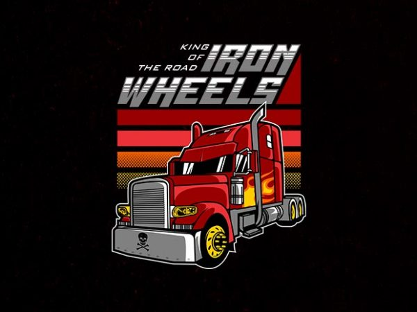 the big red Vector t-shirt design