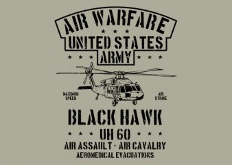 Air Warfare Graphic t-shirt design