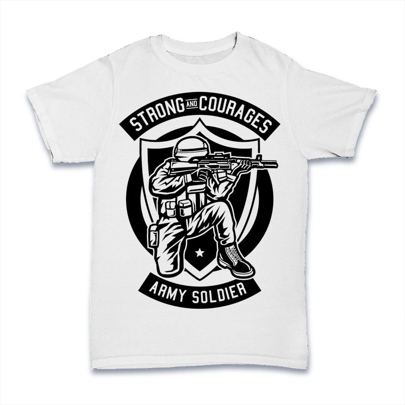 Army Soldier buy t shirt design