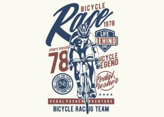 Bicycle Race Graphic t-shirt design buy t shirt design