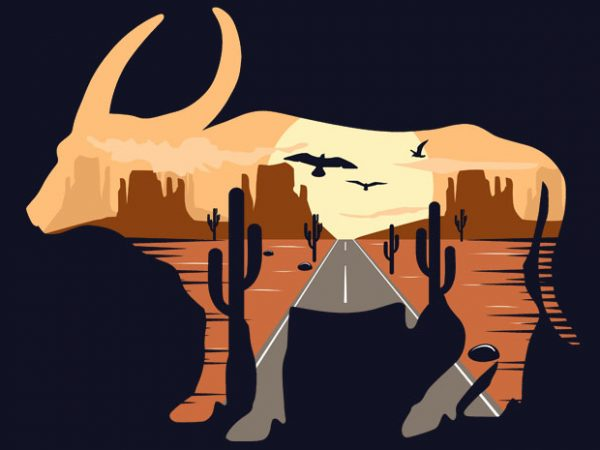 Buffalo Tshirt Design