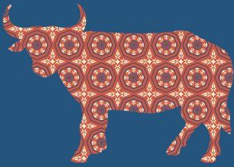 Bull Tshirt Design buy t shirt design