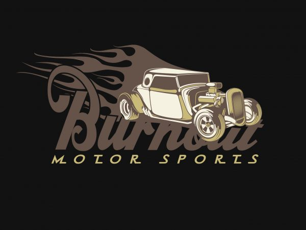 Motor Sport t shirt designs for sale