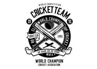 Cricket Team Tshirt Design buy t shirt design