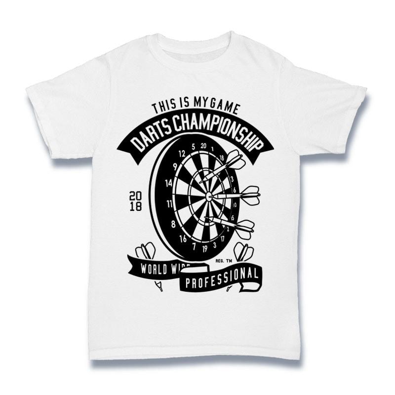 Darts Championship Tshirt Design buy t shirt design