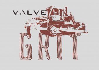 Valve Grit buy t shirt design