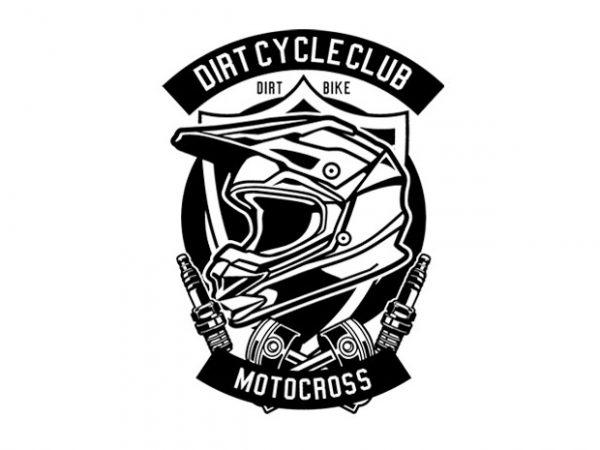 Dirt Cycle Club Tshirt Design buy t shirt design