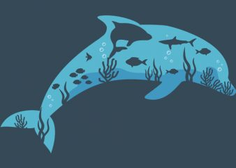 Dolphin Tshirt Design buy t shirt design