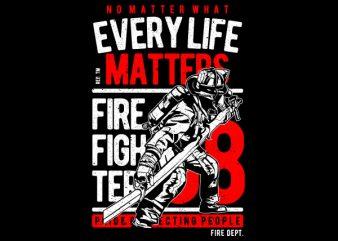 Every Life Matters Vector t-shirt design buy t shirt design