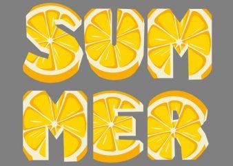 Lemon Summer Tshirt Design buy t shirt design