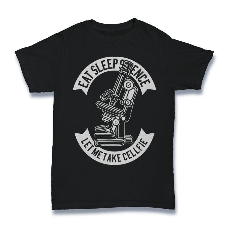 Microscope Tshirt Design buy t shirt design