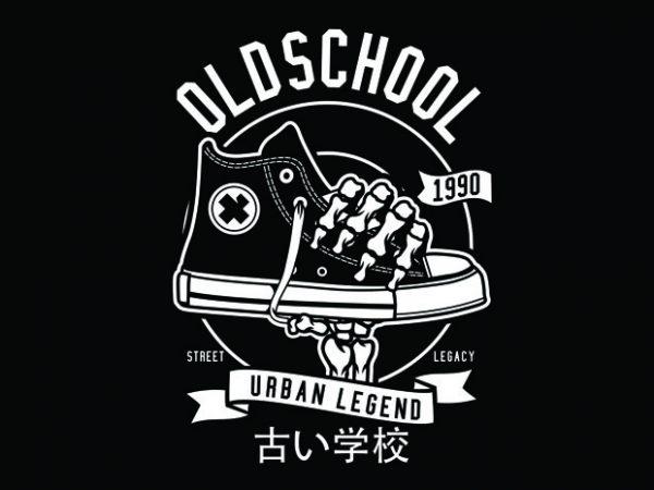 Old School Tshirt Design buy t shirt design