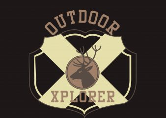 Outdoor Explorer buy t shirt design