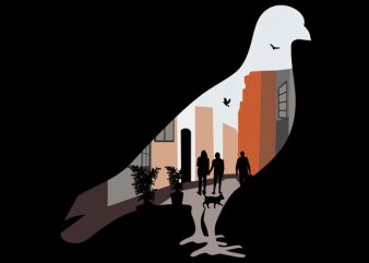 Pigeon Tshirt Design