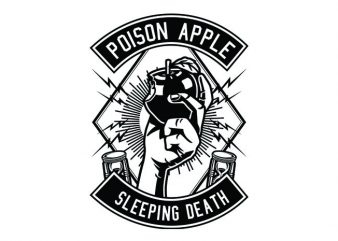 Poison Apple Tshirt Design