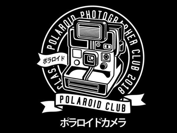 Polaroid Tshirt Design buy t shirt design