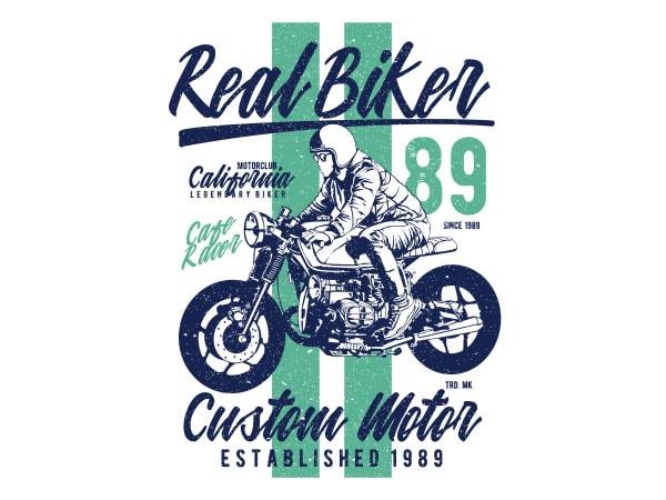 Real Biker Vector t-shirt design buy t shirt design