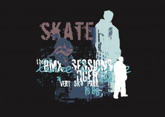 Skater Sessions buy t shirt design