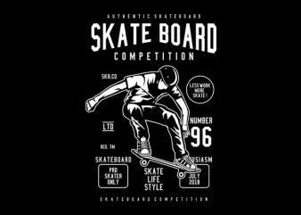 Skateboard Competition Tshirt Design buy t shirt design