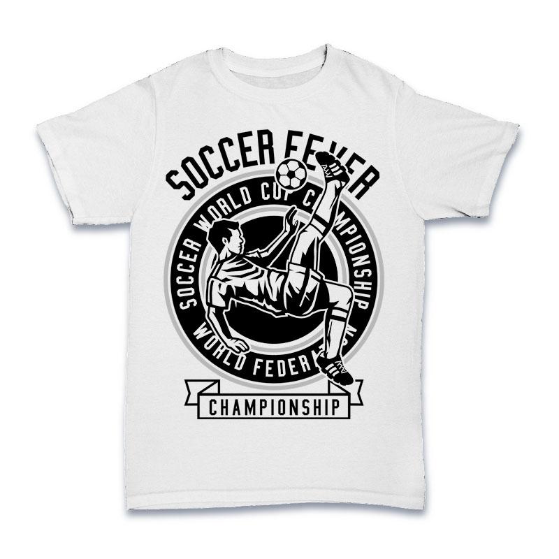 Soccer Fever Tshirt Design buy t shirt design