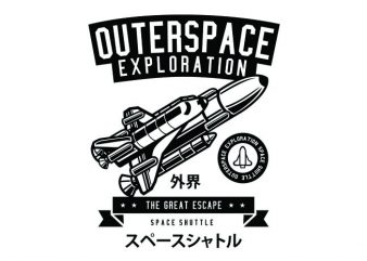 Space Shuttle Tshirt Design buy t shirt design