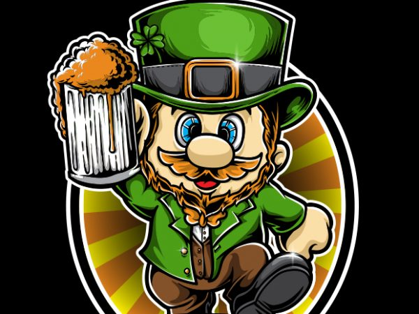 Super St patrick Day t shirt template vector