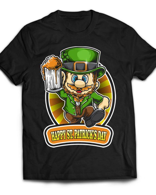 Super St patrick Day buy t shirt design